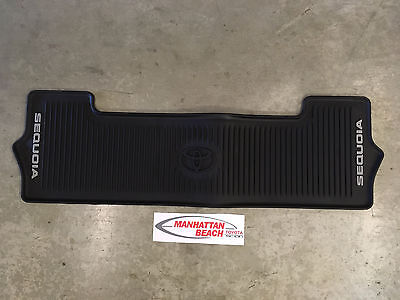 (16-19 SEQUOIA 3RD ROW ALL WEATHER FLOOR LINER MAT PT908-0C163-02 GENUINE TOYOTA)