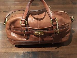Coach - Authentic Brown Leather Purse/Bag/Satchel London Ontario image 6