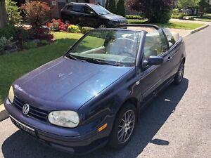 2001 VW Cabrio