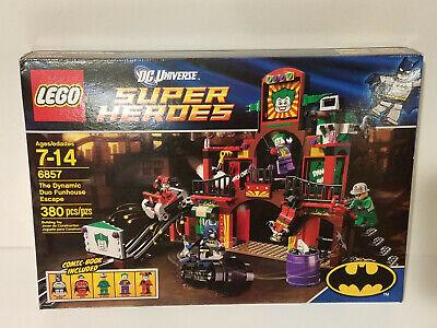 LEGO Batman 6857 Dynamic Duo Funhouse Escape NEW MISB FAST FREE SHIPPING