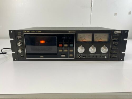 TEAC C-3RX Stereo Cassette Deck Fully Functional Refurbed! Working!