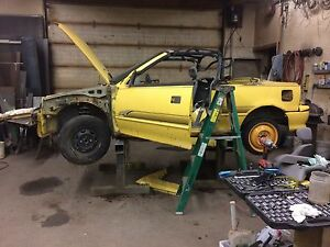 Geo metro convertible/parting out