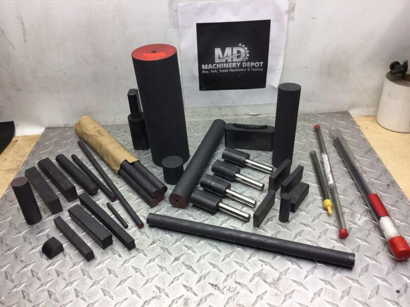 Pure Carbon Graphite Ingot Blocks EDM Graphite Plate Milling Surface #647D