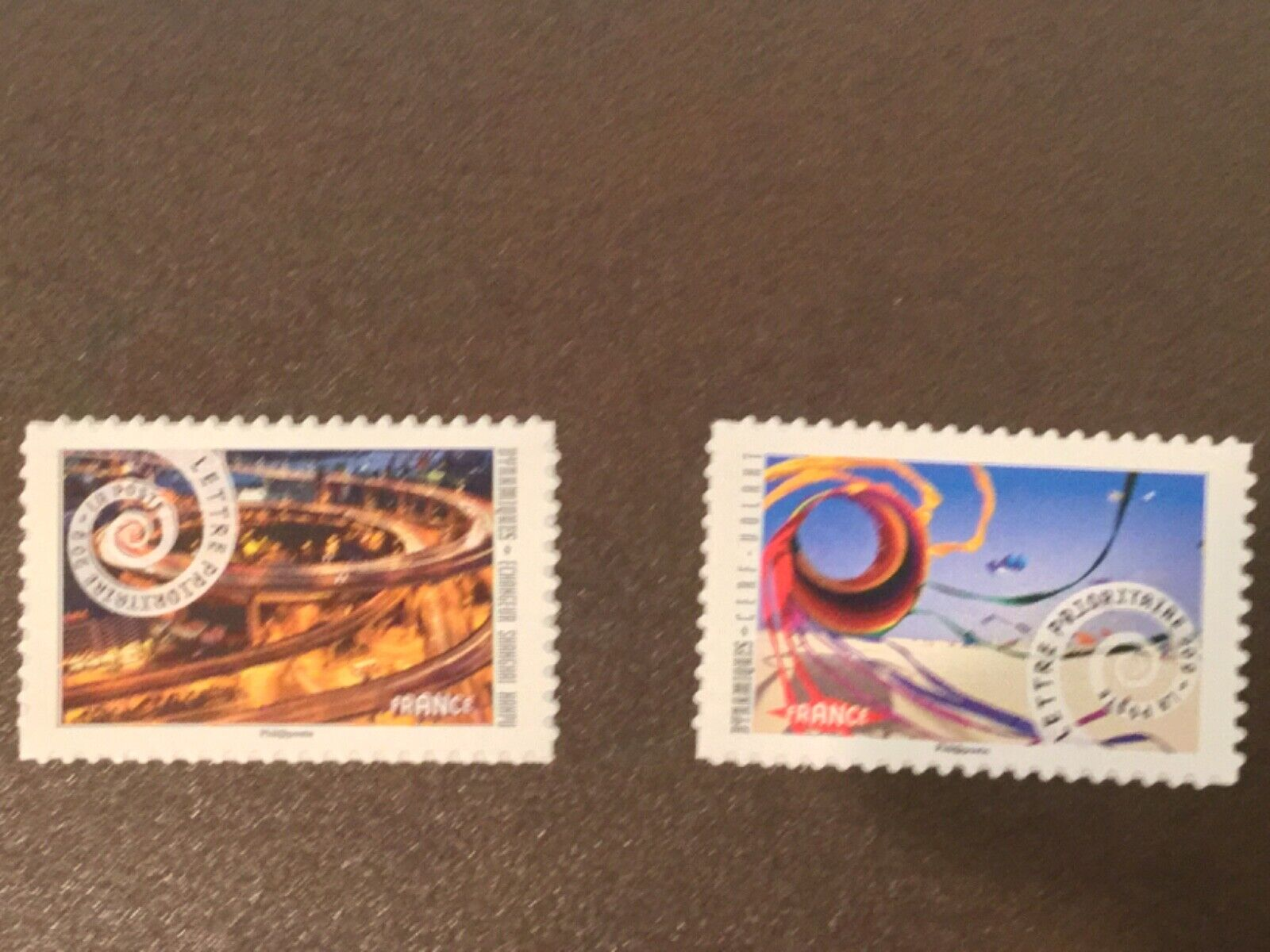 FRANCE DYNAMIQUES 2014 MNH Scott 4566-67 SELF ADHESIVE STAMPS NICE STAMPS - $1.99