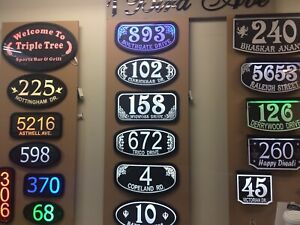 LED HOUSE SIGNS