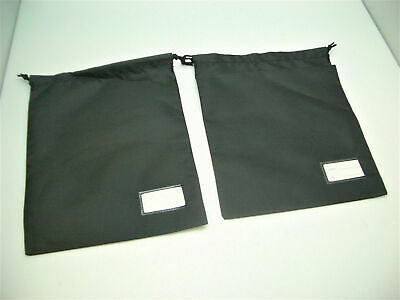 """2 X Jabra 8"""" X 10"""" BLACK Carrying Pouch for BiZ 1900 2300 2400 telephone Headset for sale  Shipping to India"""