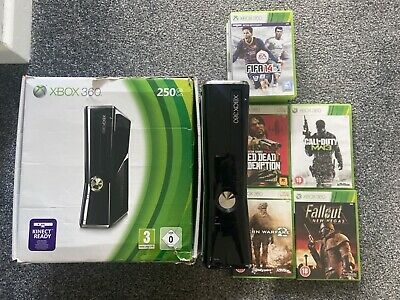 Microsoft Xbox 360 Glossy Black Console