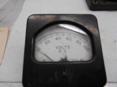 Hoyt Model 597 Dc Volt Meter