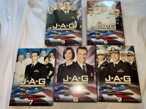 Jag DVD Seasons 5-9 Sealed  - $74.99
