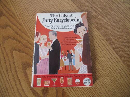 Vintage THE CALVERT PARTY ENCYCLOPEDIA (1960) Barware Drink Recipe Book