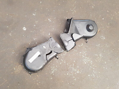 Audi Allroad 2.5 TDi Quattro A6 - PAIR OF UPPER FRONT ENGINE COVERS