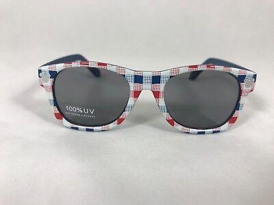 Disney Store Mickey Mouse Baby Sunglasses, Blue, Red, White Checker,100%UV