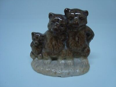 VINTAGE The Three Bears WADE FIGURINE. Excellent! for sale  Canada