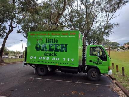 Little Green Truck Joondalup removals and courier/delivery