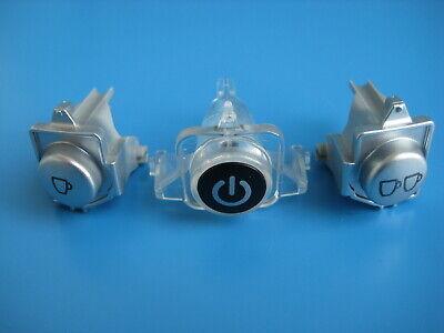 Senseo® 7824 Ersatzteil Tasten Tastensatz beleuchtbar grau silber