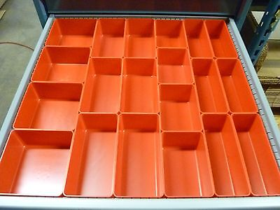 65pc 3 Deep Organizer Storage Bins Toolbox Tray Dividers Fit Lista Vidmar