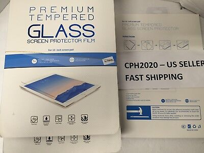 """Tempered Glass Premium Quality Screen Protector for iPad Pro 12.9"""" - Clear"""