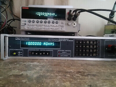 Valhalla Scientific 2724a Cpr Programmable Resistance Standard Tested