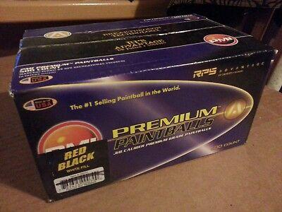 PMI Premium Paintballs 0.68 Caliber Premium Grade 500 count