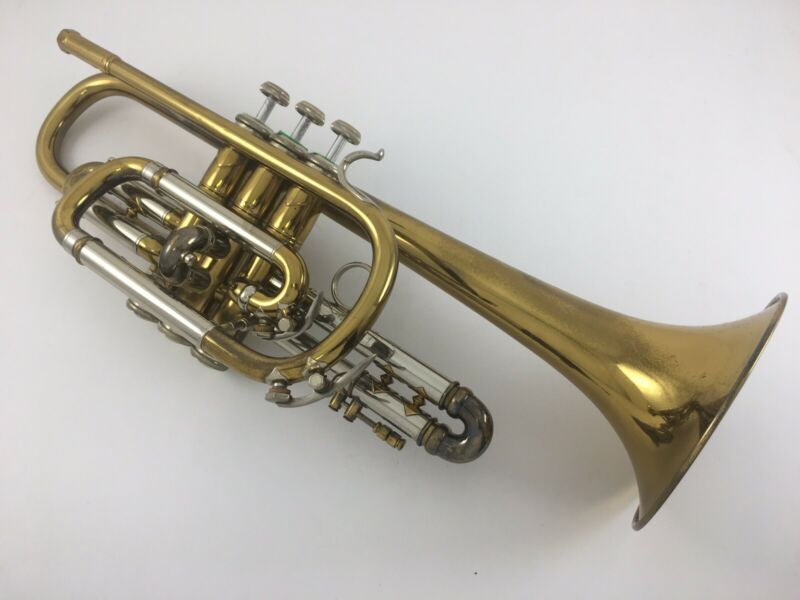 Bach NY Stradivarius Model Cornet - Serial #6XXX