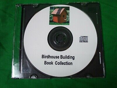 How to Build Bird Houses Feeders Baths over 50 Plans Books Guides on CD