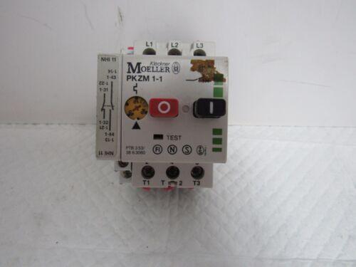 KLOCKNER MOELLER PKZM 1-1,1A MOTOR STARTER
