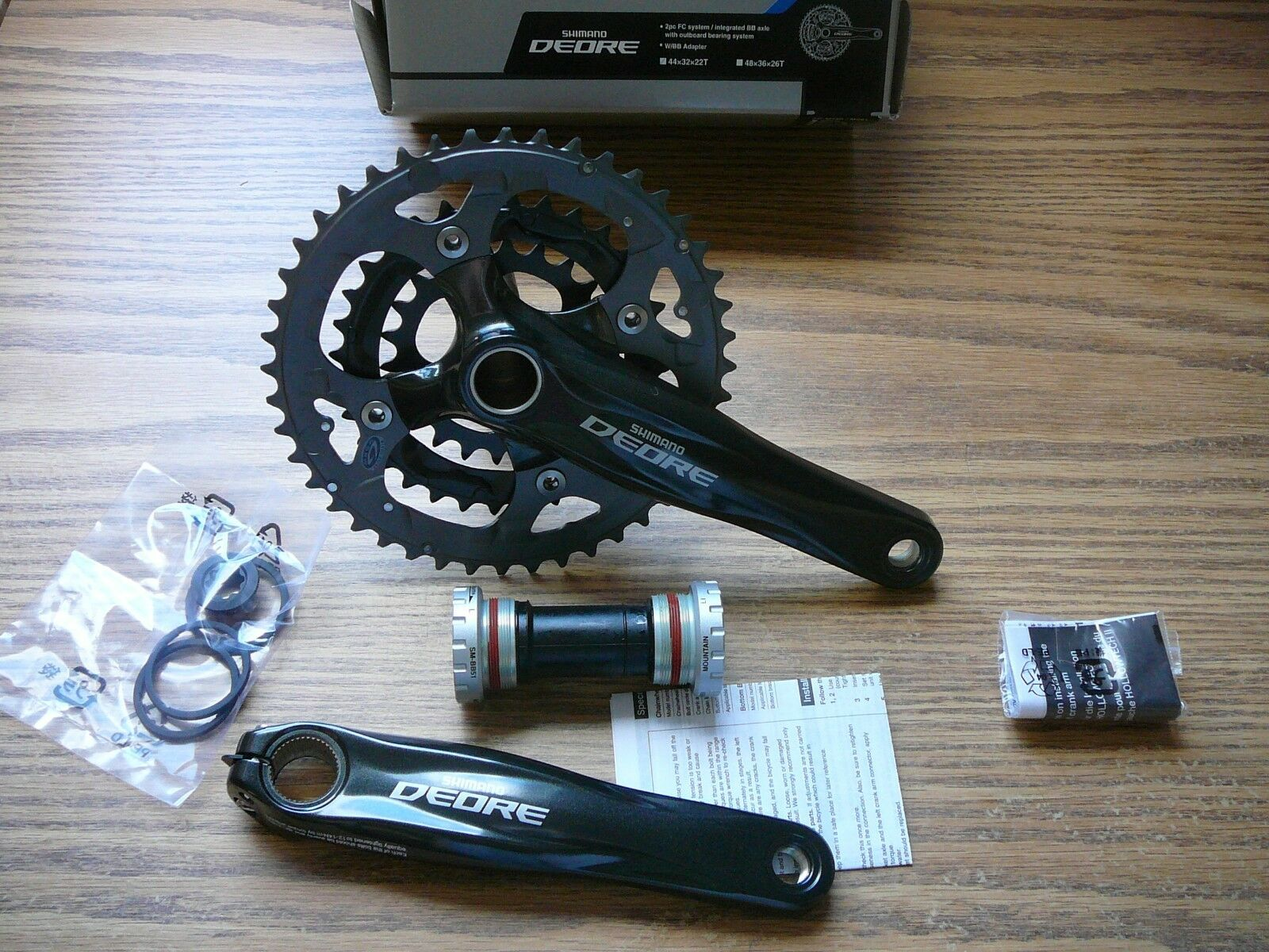 fea5a6dece2 Купить Shimano Deore FC-M590 Bike Crankset 9 spd 175mm на eBay.com ...