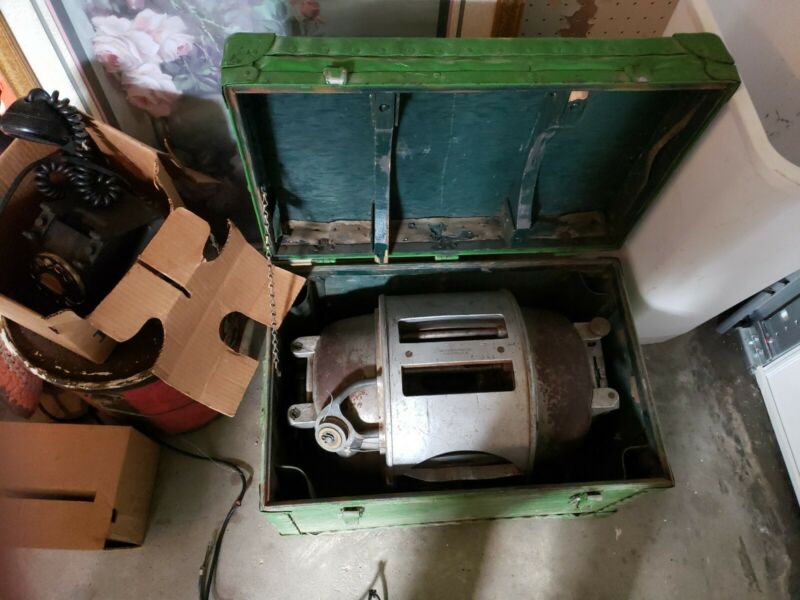 General Machine Products cable lasher with case is said to work by Telephone Co.