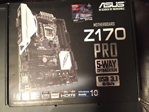Asus Z170 Pro Motherboard