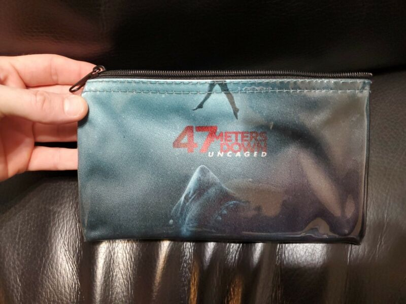 New 47 METERS DOWN: UNCAGED (2019) Official Movie Promo small bag pouch