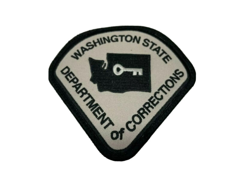 NEW WA Washington State Department of Corrections Patch