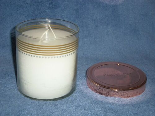 Partylite Iced Snowberries GloLite Jar Candle with lid -- NIB