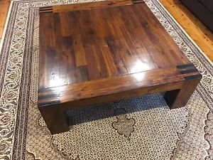 Timber coffee table Adamstown Newcastle Area Preview