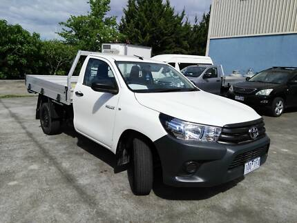 2015 Toyota Hilux Ute WORK MATE 2.4 T DIESEL  MANUAL Ravenhall Melton Area Preview