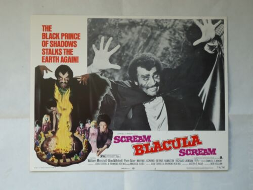 BLAXPLOITATION/  SCREAM BLACULA,SCREAM /UO2/lobby card # 3
