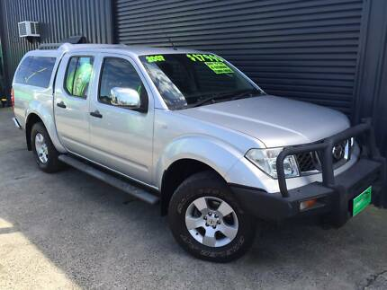 2007 Nissan Navara ST-X D/Cab, Turbo Diesel, SALE *$15,980 Currumbin Waters Gold Coast South Preview