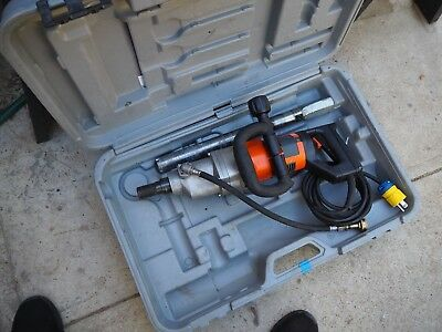 Norton Clipper Hand Held Core Drill Rig 2 Speed 15 Amp Cardi Motor