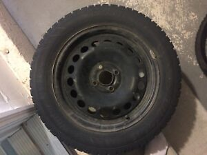 195/60 R15 Tyre with Rim