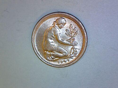 Germany, Federal Republic - 50 Pfennig - 1949 G - KM# 104