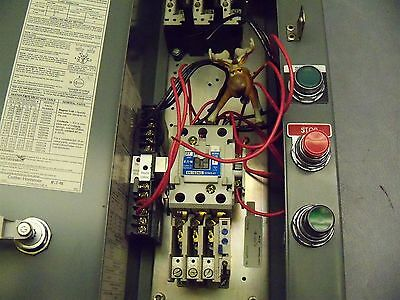 Cutler Hammer An16dno Size 1 Combination Starter W Phase Monitor Relay C323pn12