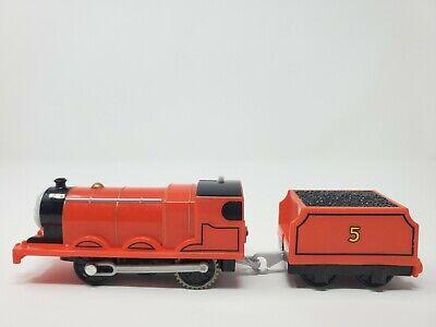 James Thomas & friends trackmaster motorized train 2013 Mattel works!