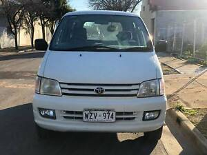 2001 TOYOTA SPACIA AUTO 7 SEATS PEOPLE MOVER Torrensville West Torrens Area Preview