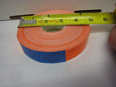 3m Brand Neon Orange Reflective  Conspicuity Tape 78 X 60 Feet Very Thick