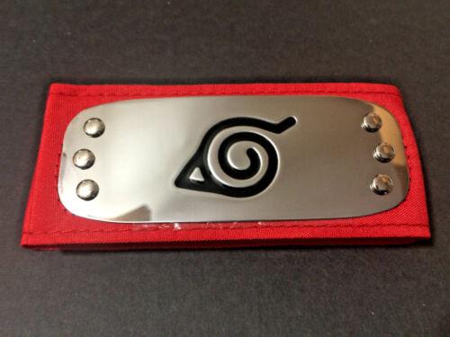 USA Seller Naruto Uchiha Itachi Leaf Village Konoha Ninja Red Headband Cosplay