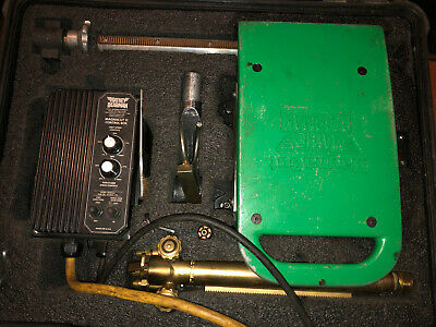 Mathey Dearman Magnacut Xm Cuttingbeveling Tool With Torch And Case Nice