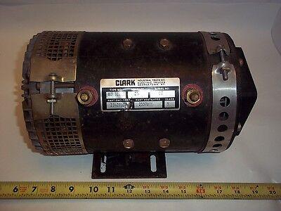 2337811 Clark Forklift Rebuilt Motor 24 Volt 2342848 Au1829m