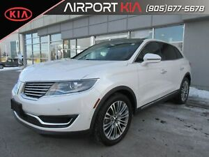2018 Lincoln MKX Reserve / Leather /Navigation/AWD Loaded