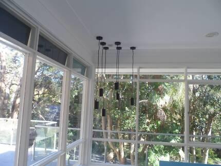 4 pendant lights LED