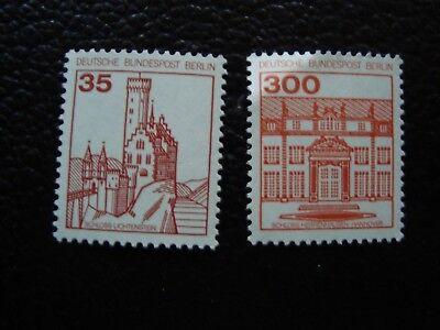 DEUTSCHLAND BERLIN BRIEFMARKE YVERT TELLIER NR 632 634 N MNH WF1