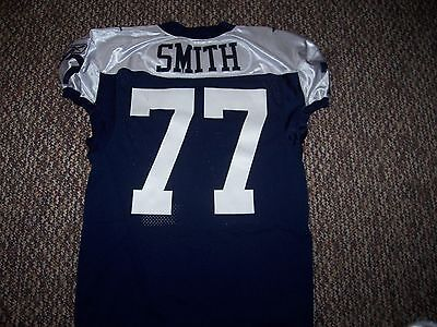 2011 Dallas Cowboys Game / Issued Used Jersey  (Tyron Smith)
